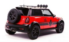 """Mini Commissions the One-Off """"Red Mudder"""" To Raise Money for AIDS Charity"""