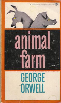 George orwell 1984 a signet classic book cover back for Classic house genre