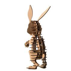 Amazon.com: Paper Maker DIY Easter Bunny Decoration 3D Puzzle Rabbit Model Toys for Kids (Green): Home & Kitchen