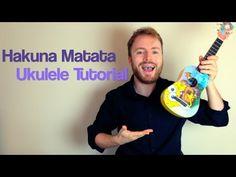Here's fun! How to play Hakuna Matata from the Lion King on the ukulele! Ukulele Songs Beginner, Ukulele Chords Songs, Cool Ukulele, Ukelele, Guitar Songs, Ukulele Tabs, Best Disney Songs, Disney Ukulele, Apps