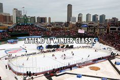 Hockey Bucket List- Attend a NHL Winter Classic game