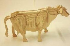 Bilderesultat for wooden cow