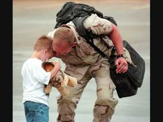 "Thank you to all of our troops, past & present for your service & we're all so glad you're ""Coming Home""!!!"