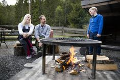 MyRoyals:  Crown Princess Mette-Marit, Crown Prince Haakon and Prince Sverre Magnus participated in a campsite founded in Vestmarka, May 18, 2015