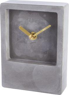 Concrete clock from CB2