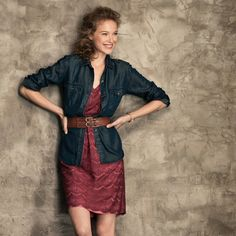 FOSSIL® Clothing Dresses & Skirts:Women Penny Dress WC8407