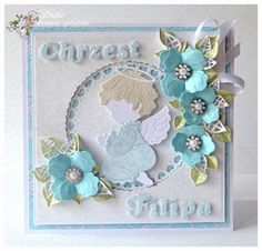 Baby Boy Angel Card  (Site: photos only)
