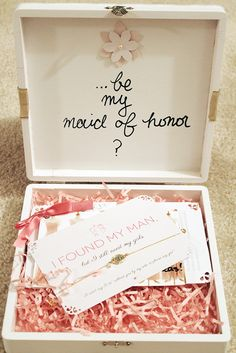 7 best bridesmaid invitation box images bridesmaid invitation box