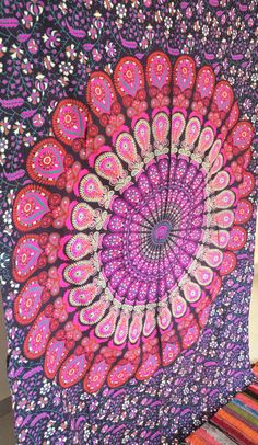 Large Mandala Tapestry Hippie Hippy Wall Hanging Throw Bedspread Dorm Tapestries