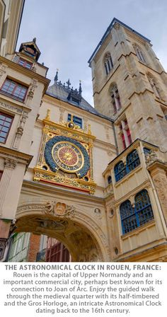 The Astronomical Clock in Rouen