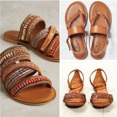 Unas sandalias cafés son indispensables en cualquier armario ;) #revista #revistainkomoda #sandalias #zapatos #moda