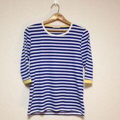 BROWNY 7/10 Sleeve T-Shirt Size M