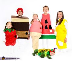 The Very Hungry Caterpillar - Halloween Costume Contest via @costume_works