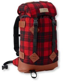 Classic Wool Day Pack: Backpacks | Free Shipping at L.L.Bean