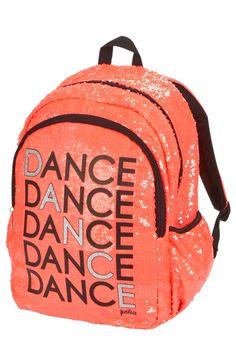 Sequin Dance Backpack
