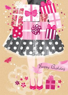 Debbie Edwards - 16th 18th 21st Female Birthday Mothers Day Teenage Birthday Girl With Presents