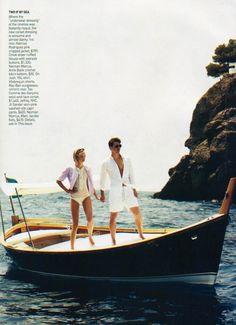 Gemma Ward & Josh Hartnett ~ Miss at la Playa