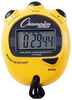 Champion Sports Big Digit Display Stop Watch