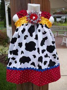 dress - the cow print