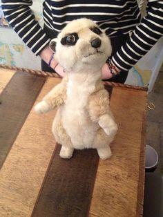 FOUND- toy meerkat in Nauticalia on the Albert Dock, Liverpool on 30/8/16. He…