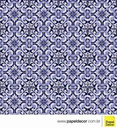 Adesivo de azulejo português para decoração. Papel Decor