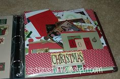 Organize old Christmas cards