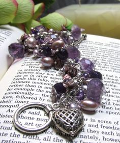 etsy jewelry ~ Reserved for Mary  Amethyst Bracelet by dbsj on Etsy, $225.00