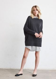 cd1e623d834 The Oversized Sweater. 30 OutfitsOrganic Cotton ...
