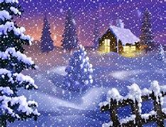Snowing Christmas - Bing images