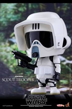 Hot Toys - COSB310 - Star Wars - Scout Trooper Cosbaby Bobble-Head