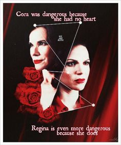 Cora and Regina - Once Upon a Time