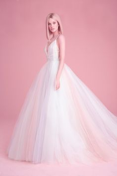 Colorful Wedding Dresses That Make a Statement Down the Aisle 269aebbb7842