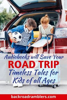 Are you looking for the best audiobooks for family road trips? These are our absolute favorites, and include audiobooks for tweens, toddlers, and elementary-age kids. Don't worry - even though these audiobooks are geared toward kids, even adults will be mesmerized. #audiobooks #backroadramblers