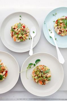 Simple suppers for Coastal Living magazine {Lobster and Apple Salad} :: Cannelle et Vanille