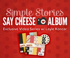 Simple Stories Say Cheese Class