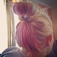 Pink Hair Underlayer from juliettttet Instagram