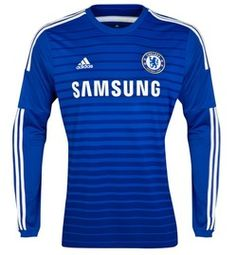 Chelsea Long Sleeve Home Jersey 2014 – 2015