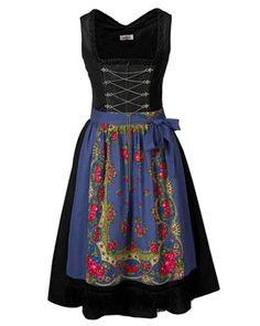 kurzes Dirndl (schwarz) von Almsach - Kleider & Dirndl - Bekleidung - Damenmode Online Shop - Frankonia.de