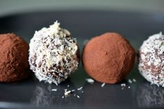 Nom Nom Chocolate Truffles- I made these last week and couldn't stop eating them.  You've been warned.