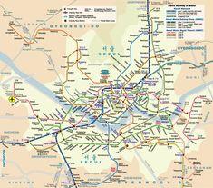 Seoul Metro Map - Seoul Korea • mappery