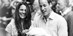 William & Kate and Baby George... love the happiness in this picture!
