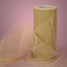 5 yards  6 Metallic Gold Tulle by MrsSupply on Etsy, $3.20