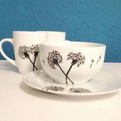 DIY Idee: Mit Porzellanmaler Geschirr selbst bemalen