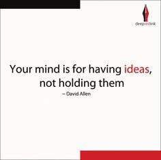 #Ideas
