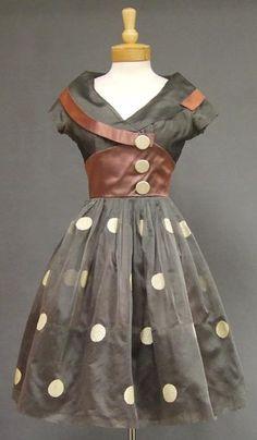 Image detail for -... Cocktail Dress VINTAGEOUS VINTAGE CLOTHING : 50s dress retro satin