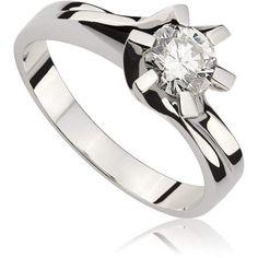 Pierścionek zaręczynowy z diamentem z białego złota P0178BB Models, Engagement Rings, Jewelry, Templates, Enagement Rings, Wedding Rings, Jewlery, Jewerly, Schmuck