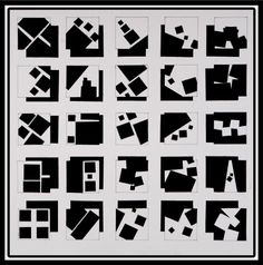Taylor Piccarreto - composition of squares. Each square represents a good usage of composition in a 2d Design, Graphic Design Tips, Shape Design, Design Model, Elements Of Art, Design Elements, Negative And Positive Space, Basic Design Principles, Concept Models Architecture