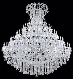 Crystal Chandelier!