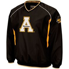 9875d7683a4 Appalachian State Mountaineers Hardball II Pullover Jacket - Black