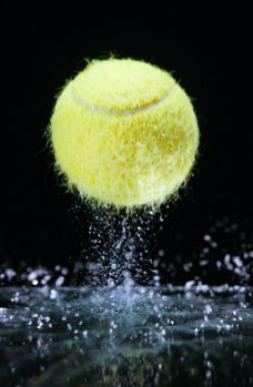 Image result for wet tennis ball